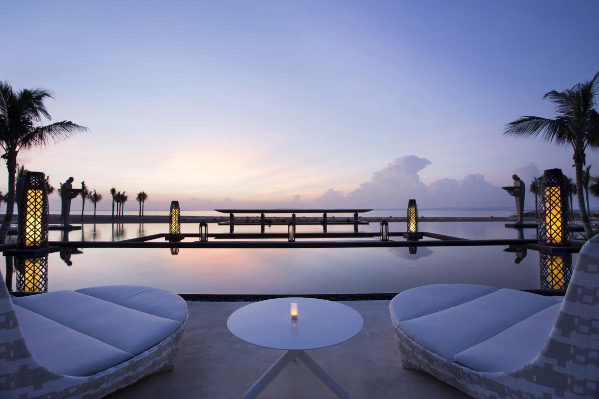 Eines der 10 besten hotels weltweit the mulia mulia for Hotels tours
