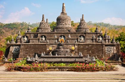 Buddhist temple - Banjar, Bali, Indonesia