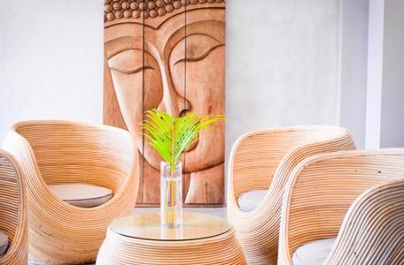 Hoteleinrichtung auf Bali