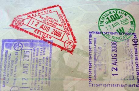 Visum und Einreise