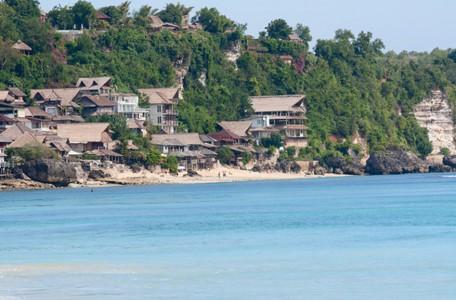 Hotels am Strand von Bali